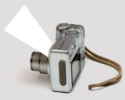 самодельный отражатель вспышки для компактного фотоаппарата