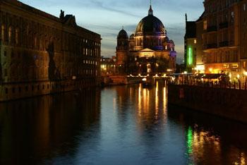 фотографирование ночного города