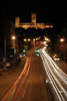 фото-съёмка в ночное время