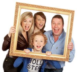 Правила семейной фотосъёмки