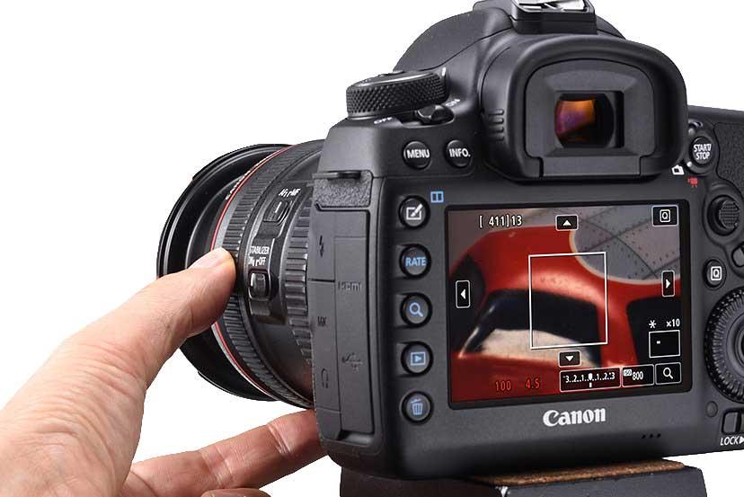 Настройки фотоаппарата в режиме М